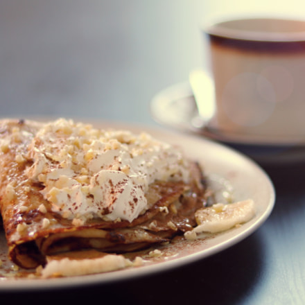 pancakes morning, Canon EOS 80D, Canon EF 50mm f/1.8 STM