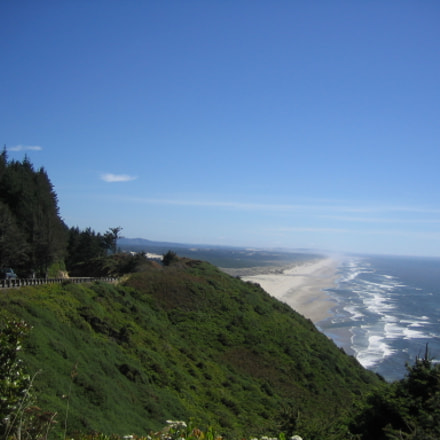 Oregon Coastline, Canon POWERSHOT SD200