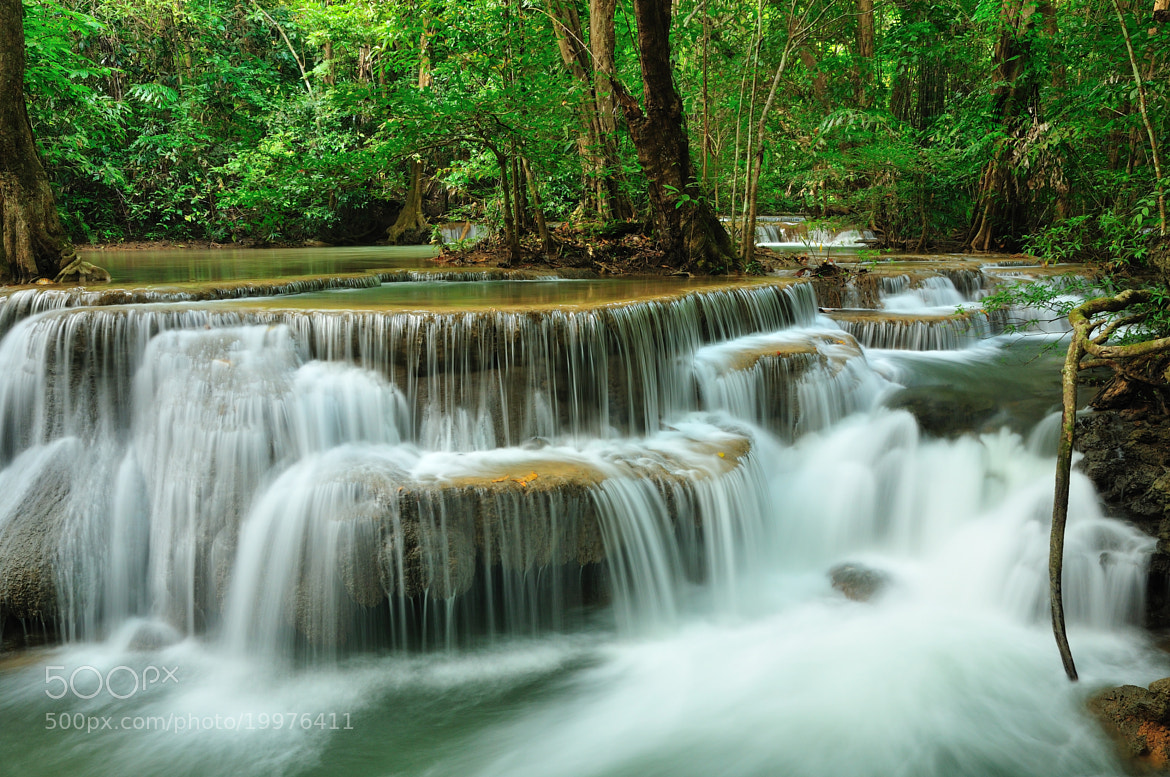 Photograph Huai Mae Kamin Waterfall ( 6th level ) by Photos of Thailand .... on 500px