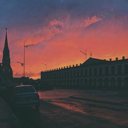 Hometown twilight