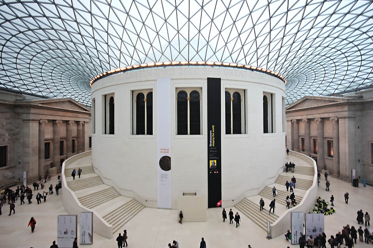 Photograph The Great Court, British Museum by Andrea Kamal on 500px
