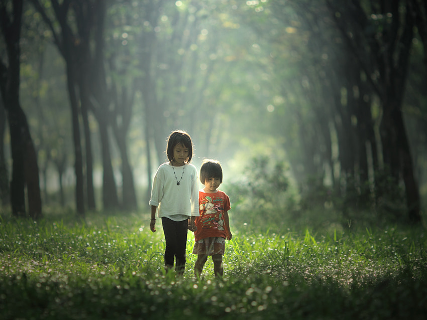 Photograph sisters by JD Ardiansyah on 500px