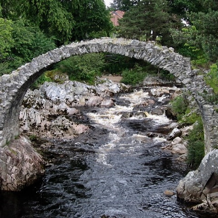Bridge - Scottish Highlands, Canon DIGITAL IXUS I