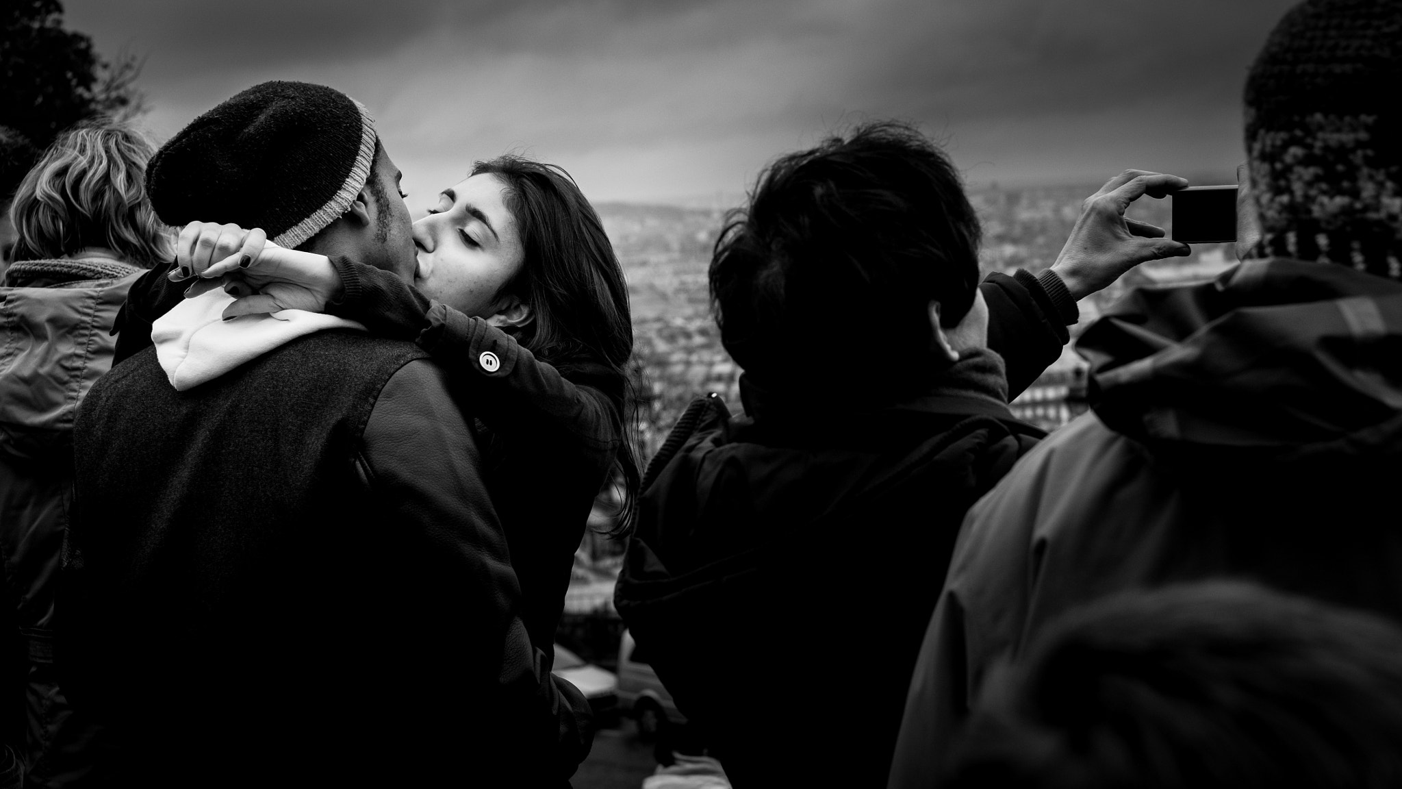 Photograph Love at Montmartre, Paris by bert stephani on 500px