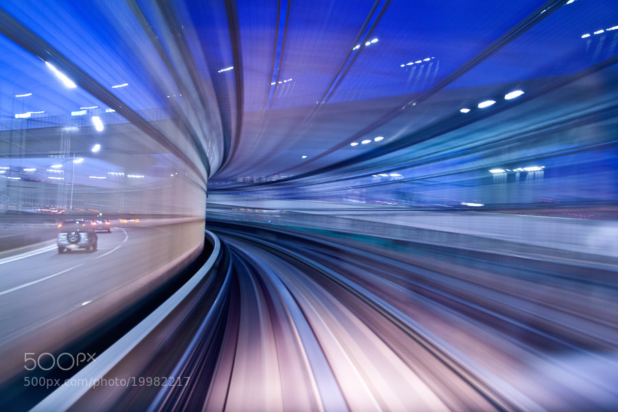 Photograph twilight tunnel by yu n on 500px