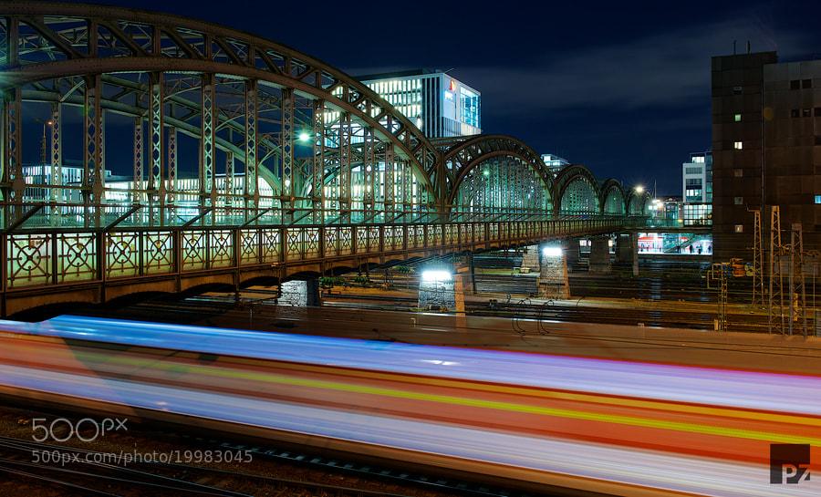 Photograph Hackerbrücke Munich, Germany by Patrick Zander on 500px