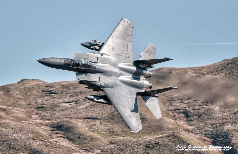 Photograph USAF F15E Strike Eagle by Leigh Garthwaite on 500px