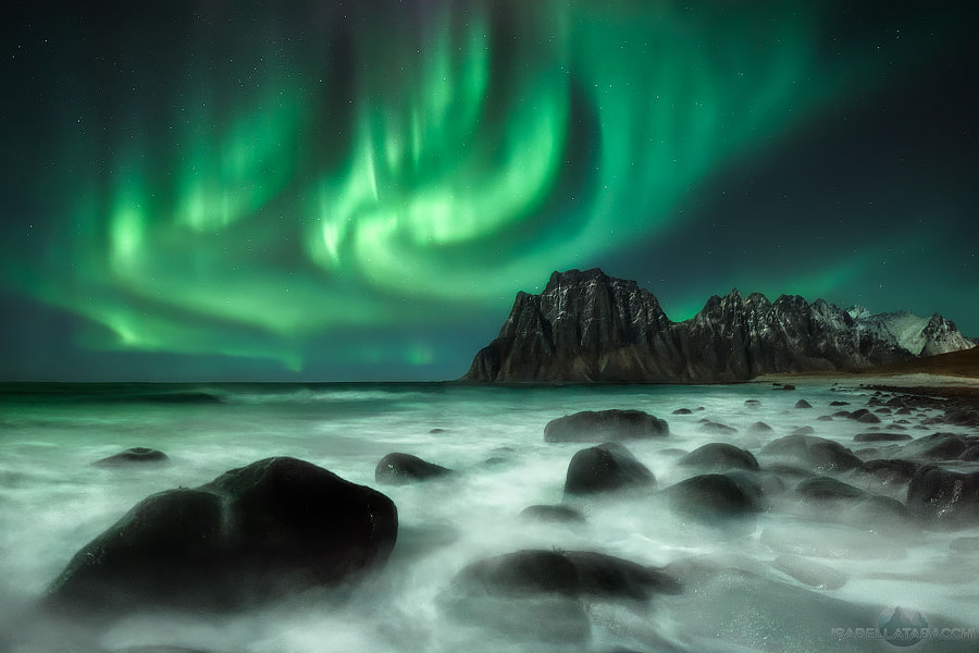 Dancing in the Night by landscape Photographer Isabella Tabacchi on 500px.com