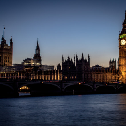 Big Ben and Westminster, Canon EOS 1200D, Canon EF-S 18-55mm f/3.5-5.6 III