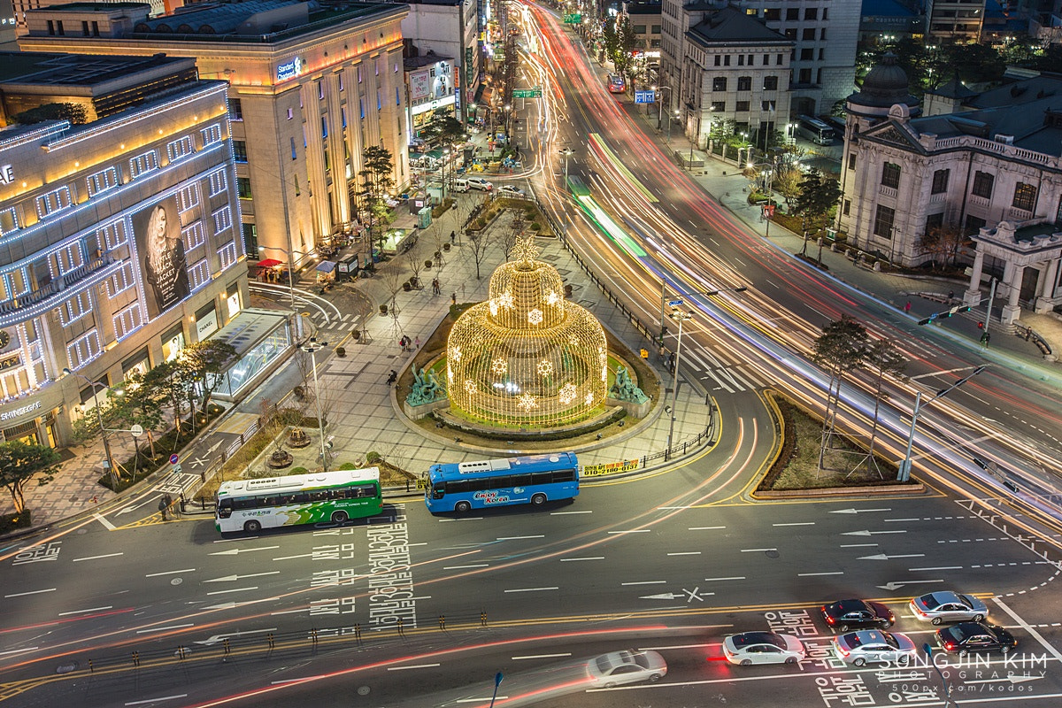 Photograph Light and trails by Sungjin Kim on 500px