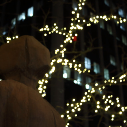 Head In The Lights, Canon EOS REBEL T5, Canon EF-S 18-55mm f/3.5-5.6 IS II