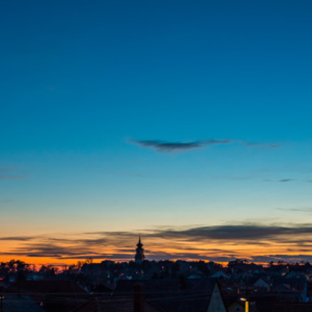 Sunset, Canon EOS 1300D, Canon EF-S 18-55mm f/3.5-5.6 IS II