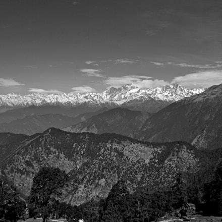 Himalayas..., Canon EOS 550D, Canon EF-S 18-55mm f/3.5-5.6 IS II