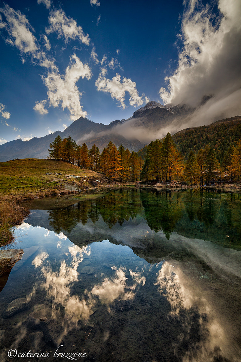 Photograph Blue lake by Caterina Bruzzone on 500px