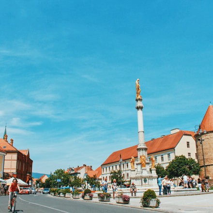 Zagreb, Canon EOS KISS X7, Canon EF-S 18-55mm f/3.5-5.6 IS STM
