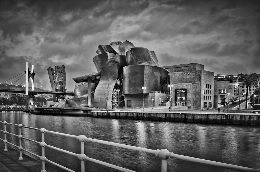 Photograph Black Guggenheim  by Asel Zulaika Campo on 500px
