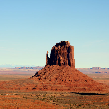 Monument Valley, Canon EOS REBEL T6I, Canon EF-S 18-135mm f/3.5-5.6 IS STM