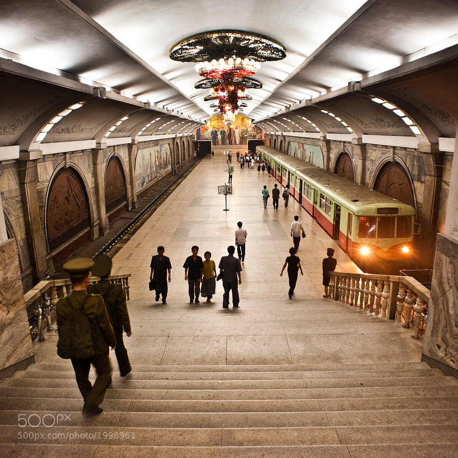 Photograph Pyongyang Train Station by Sam Gellman on 500px