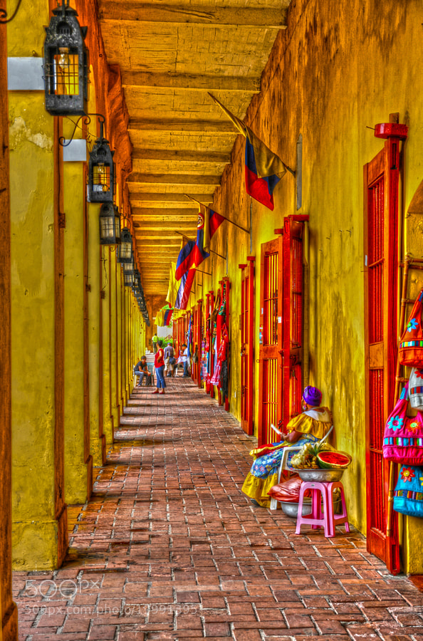 Photograph LAS BÓVEDAS, CARTAGENA DE INDIAS by Fernando Fabra C. on 500px
