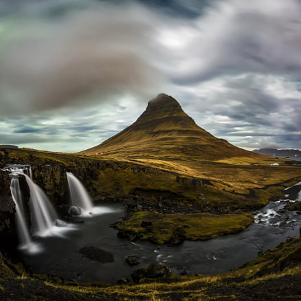 Kirkjufell at 3am, Canon EOS 5D MARK III, Canon EF 15mm f/2.8 Fisheye