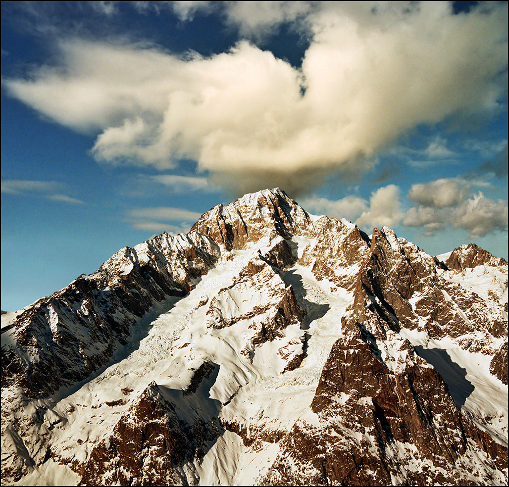 Photograph Glorious Mont Blanc peaks - View from Courmayeur by Katarina Stefanović on 500px