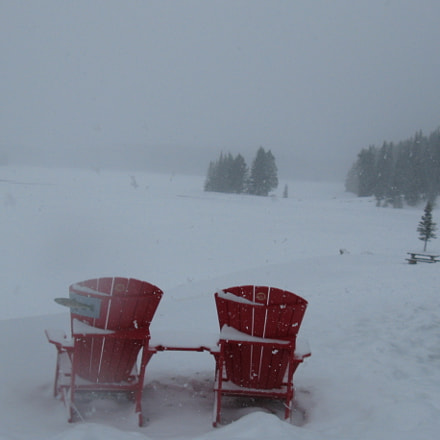 Lonely Chairs, Canon POWERSHOT A720 IS