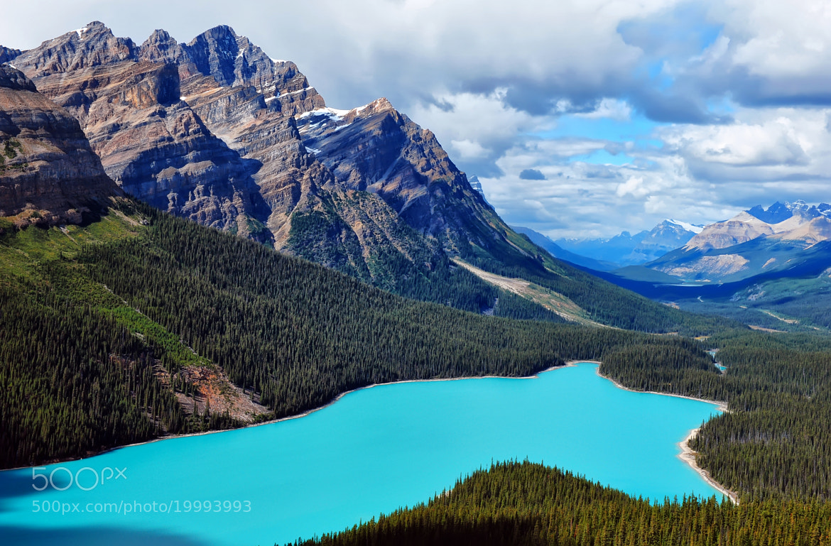 Photograph Blue Turquoise Lake by Jeff Clow on 500px