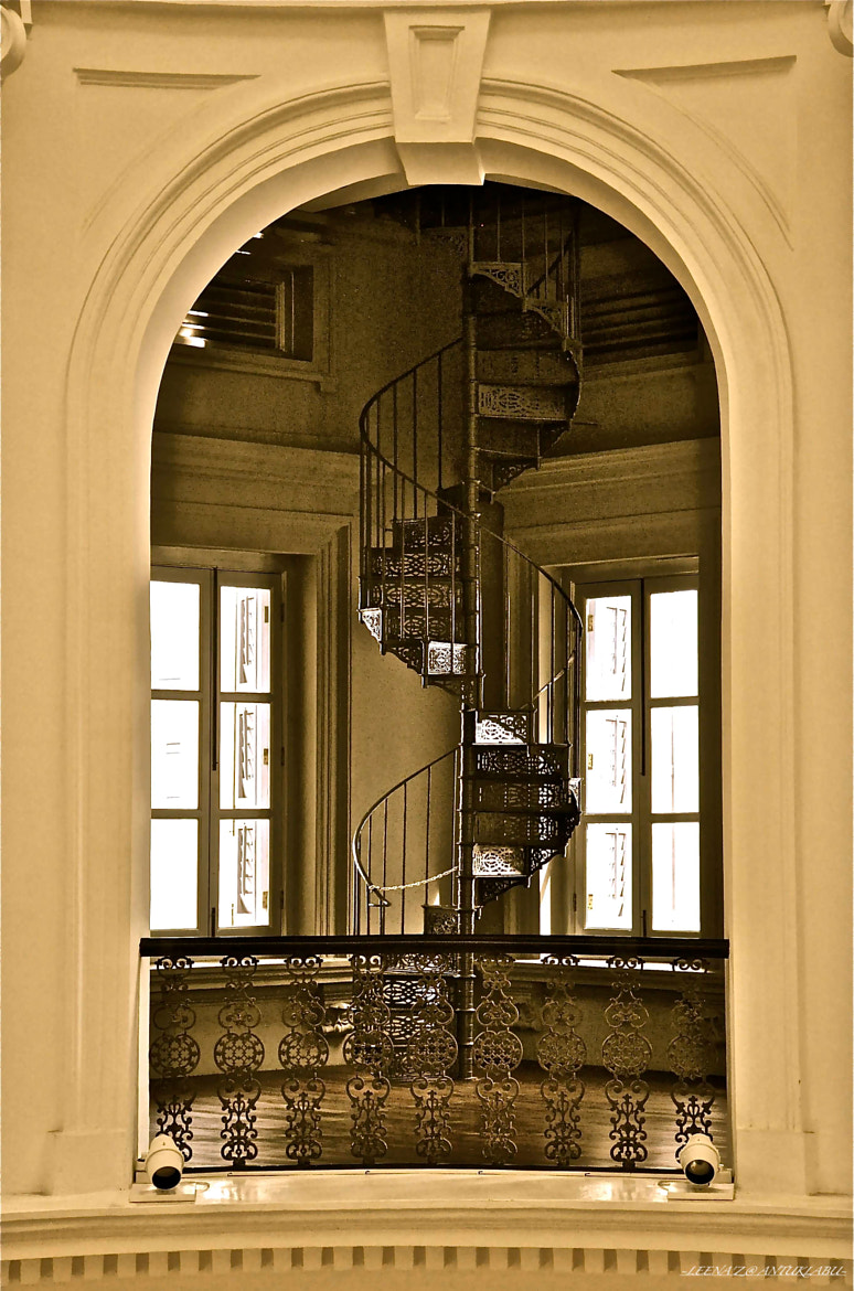 Photograph swirling stairs... by Leena'z Anilzam on 500px