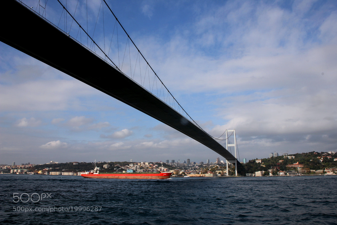 Photograph Bosphorus bridge by Krishna Mohan on 500px
