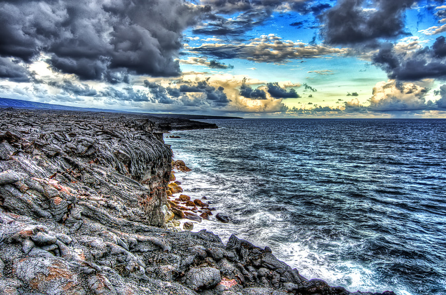 Photograph Edge, Hawaii. by Nerijus Lostinhdr on 500px
