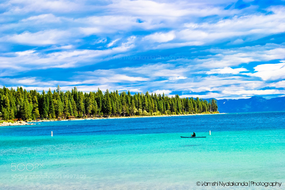 Photograph Lake Tahoe by Vamshi Nyalakonda on 500px