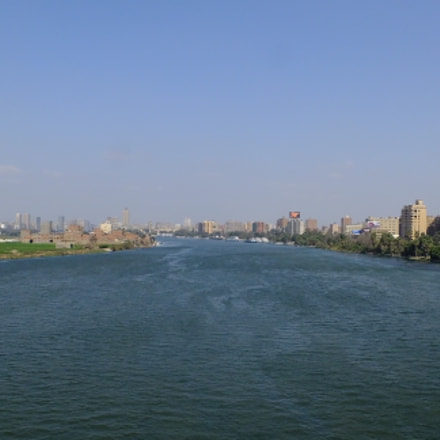 River Nile View, Fujifilm FinePix HS50EXR