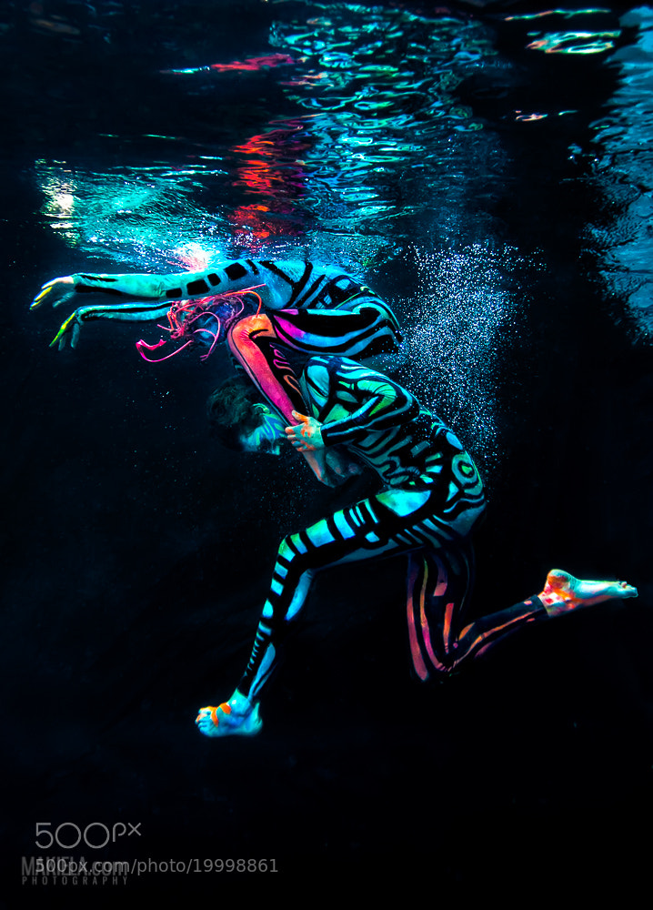 Photograph Underwater UV Ballet by Rafal Makiela on 500px