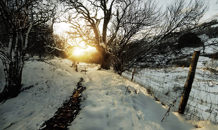 Photograph Brecon Beacons in the snow by Andrew Brooks on 500px