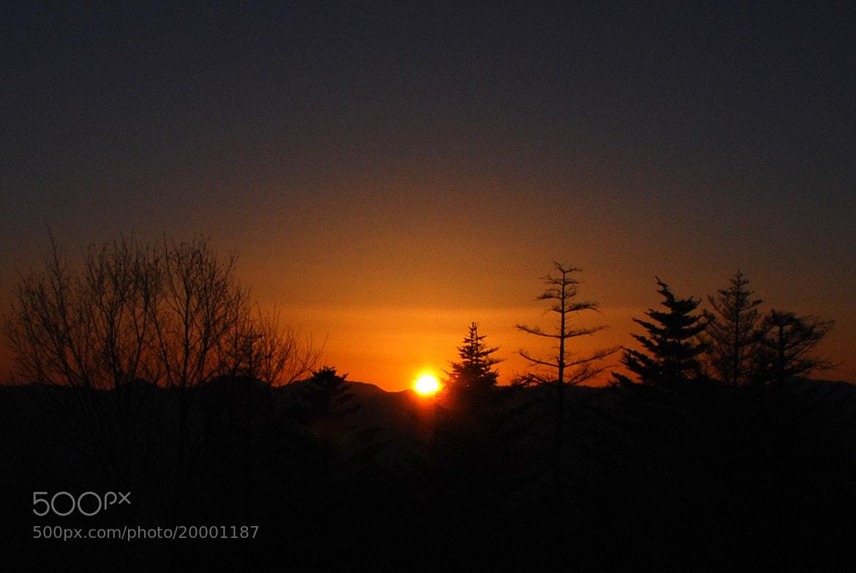 Photograph sun set by Shingo .N on 500px