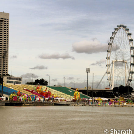 Singapore Flyer, Canon EOS REBEL T3I, Canon EF-S 18-55mm f/3.5-5.6 IS II