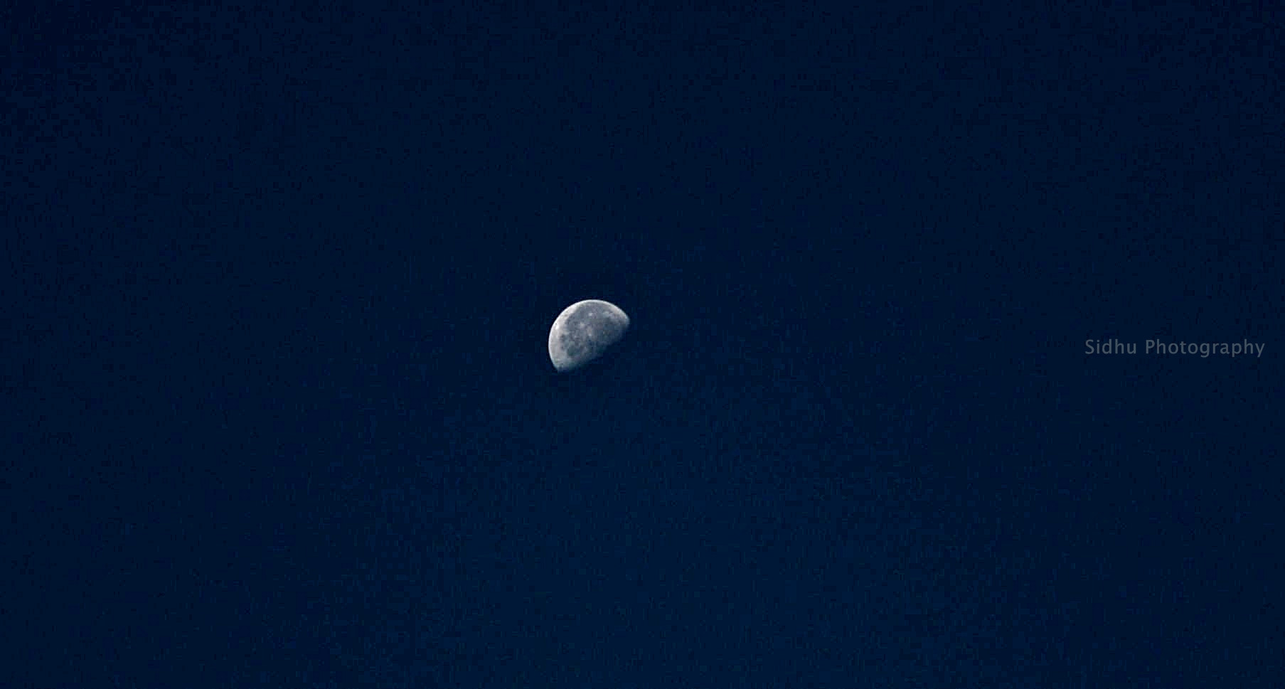 Photograph Morning Moon at Yesterday by Arun Siddharth on 500px