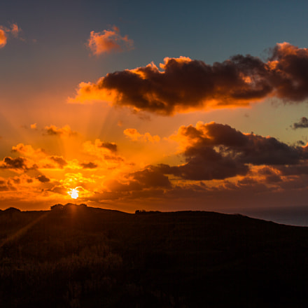 Sunset in Sintra Portugal , Canon EOS 5D MARK III, Canon EF 50mm f/1.2L