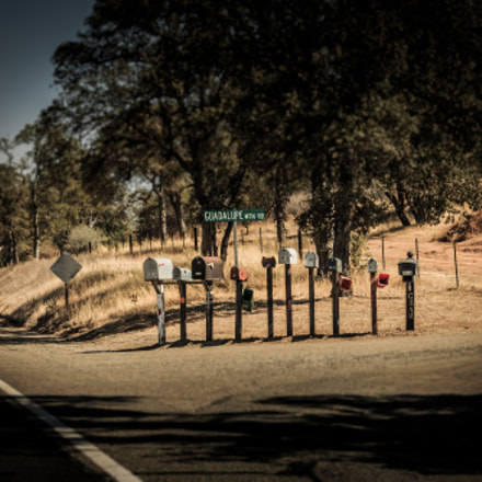 mailboxes, Canon EOS 650D, Canon EF 40mm f/2.8 STM
