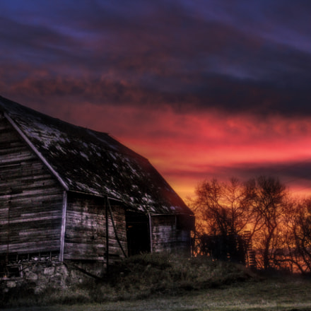 This old farmstead has, Canon EOS REBEL T3I, Canon EF-S 18-55mm f/3.5-5.6 IS II