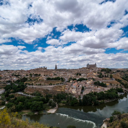 Clouds over Toledo, Sony ILCE-7RM2