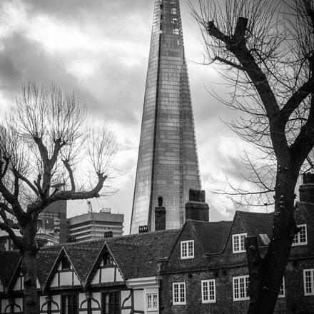 Shard from Tower of, Nikon 1 V3, 1 NIKKOR 32mm f/1.2
