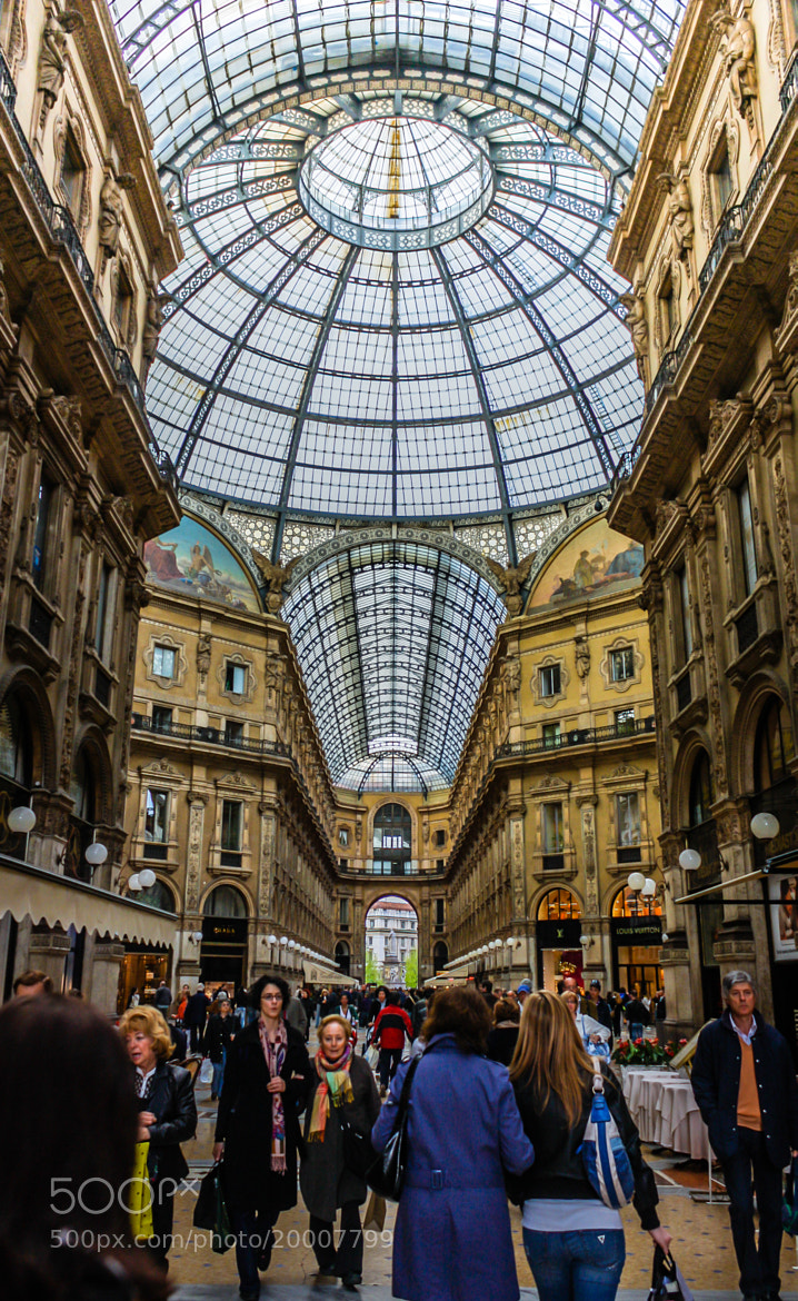 Photograph Galleria Vittorio Emanuele II by Sohail Fazluddin on 500px
