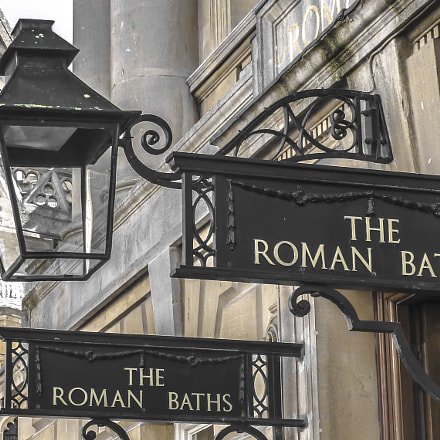 The Roman Baths, Panasonic DMC-ZS20