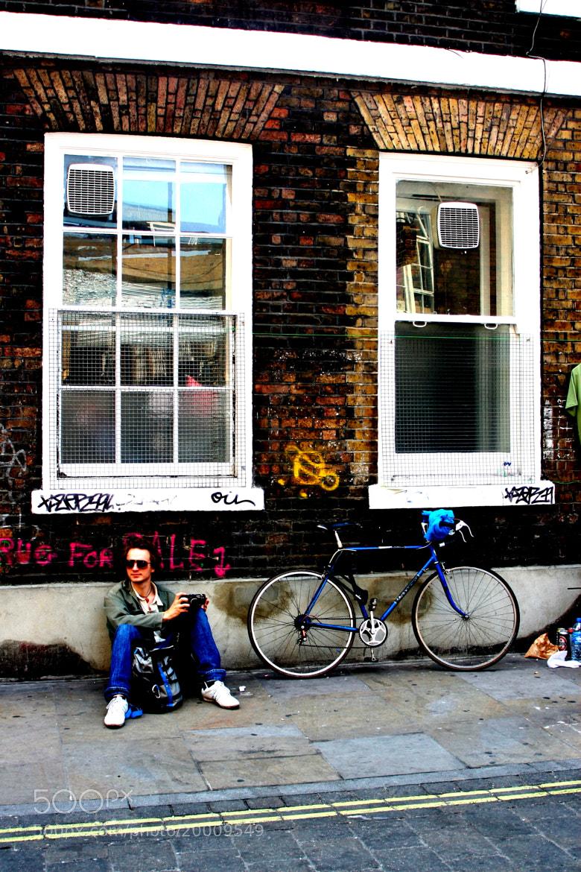 Photograph Brick lane: Bike not for sale by Simon Scott on 500px