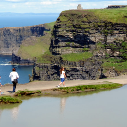 Cliffs of Moher (), Nikon COOLPIX P520