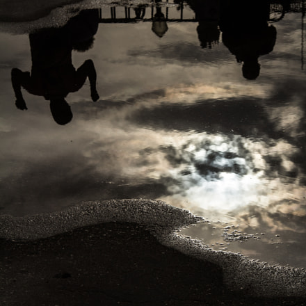 People Reflection, Canon EOS 60D, Canon EF-S 18-135mm f/3.5-5.6 IS
