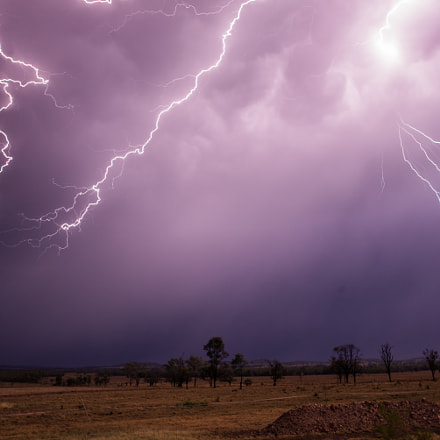 Storm in the country, Nikon D600, Sigma 28mm F1.8 EX DG Aspherical Macro