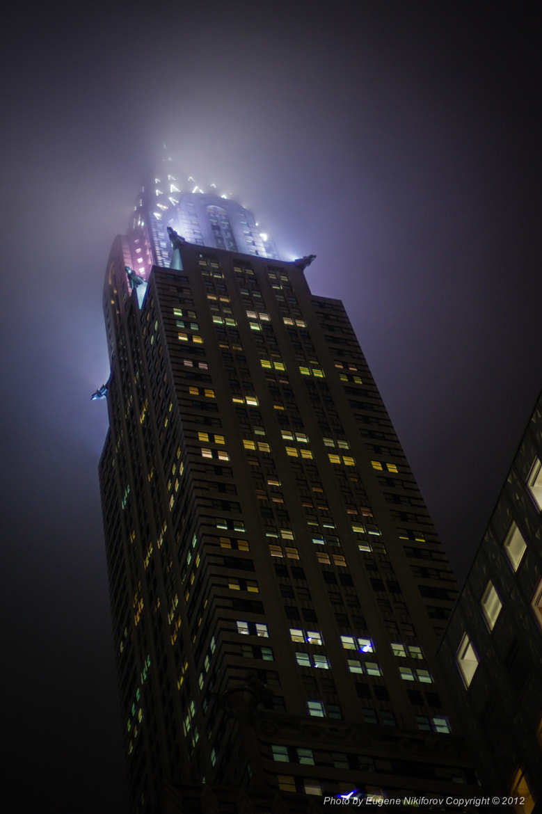 Photograph fog, Chrysler Building, New York by Eugene Nikiforov on 500px