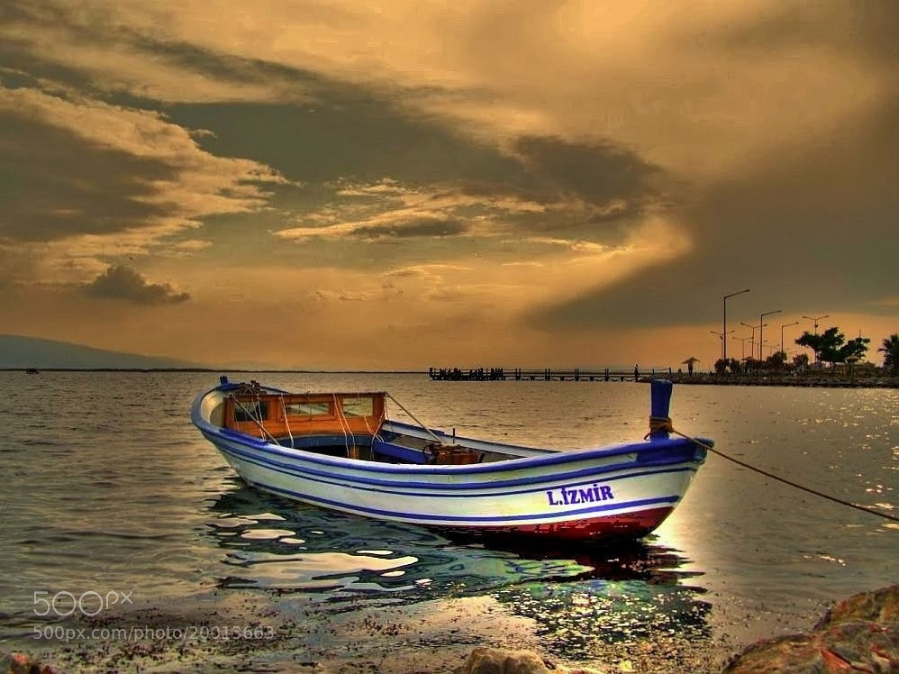 Photograph Boat by Metin Canbalaban on 500px